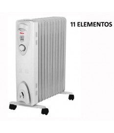 RADIADOR FLUIDO TERMICO 2500W 11 ELEMENTOS RAC11-2500