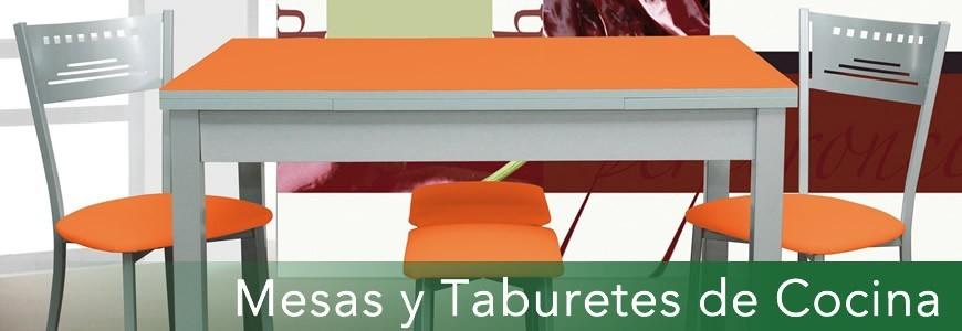 Mesas y Taburetes de Cocina